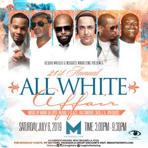 All White Affair - New Orleans @ Metropolitan