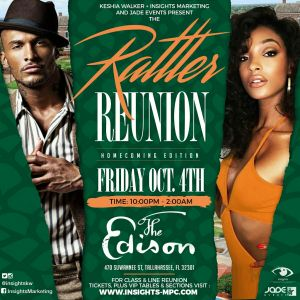 Rattler Reunion - FAMU Homcoming @ The Edison