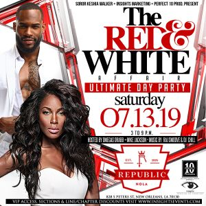 The Red & White Affair Day Party @ Republic New Orleans
