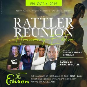Rattler Reunion - FAMU Homcoming @ The Edison